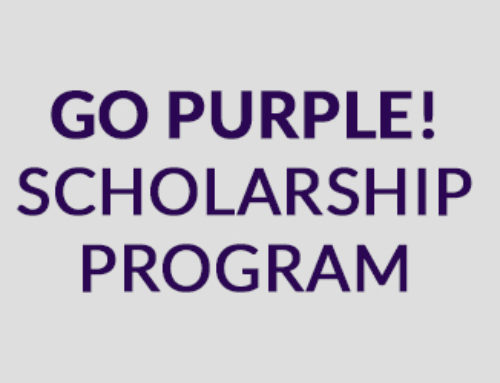 2018 GO PURPLE! SCHOLARSHIPS ANNOUNCED