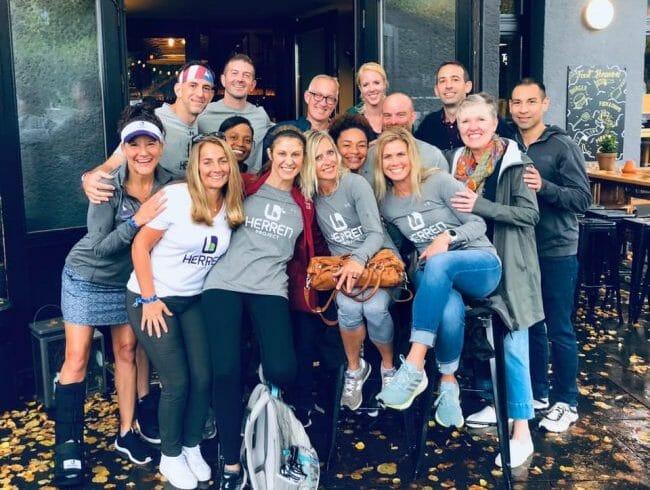 Berlin Marathon 2019 raising funds for substance use