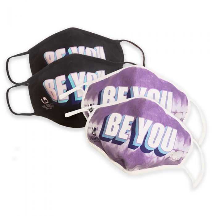 BE YOU Masks 4 pack
