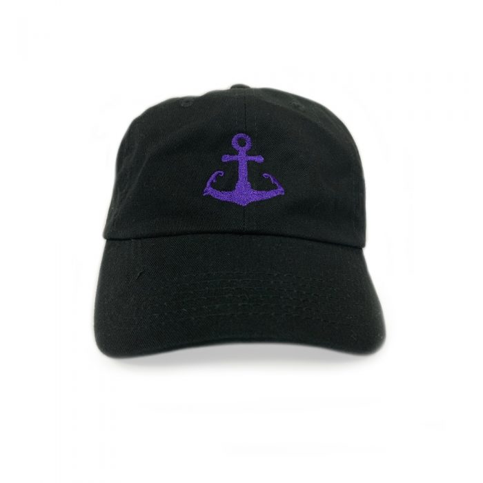 Black Cape Cod Anchor hat