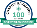 Charity Navigator Encompass Give With Confidence 100