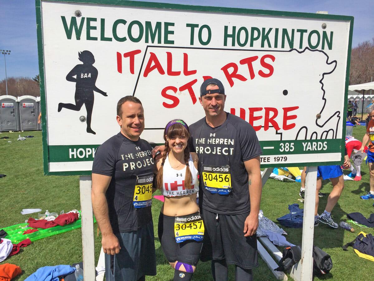 Herren Project 2014 Boston Marathon