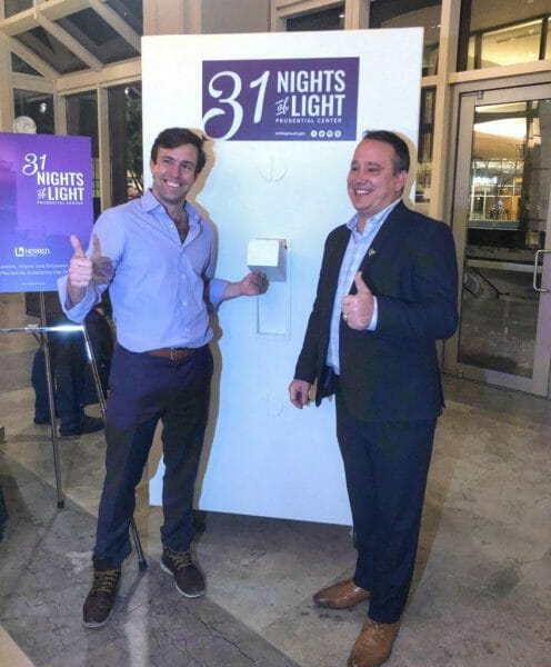 Kevin Mikolazyk and Ryan Connolly at 31 Nights of Light