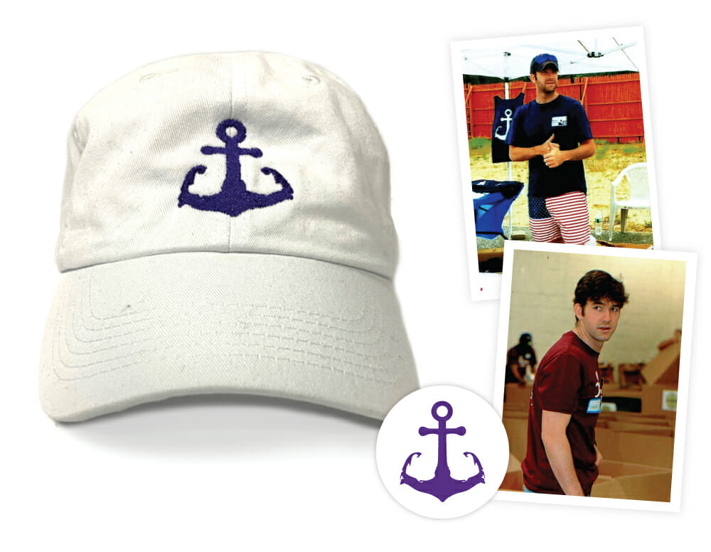 Liam's Anchor Hat