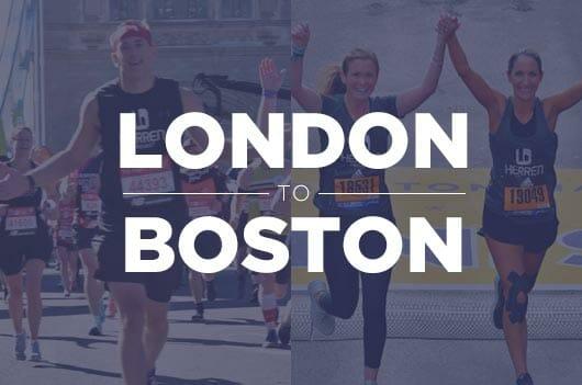 London and Boston Marathons