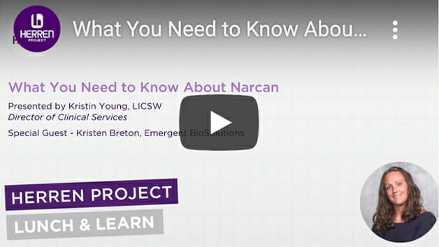 Lunch and Learn What You Need to Know About Narcan