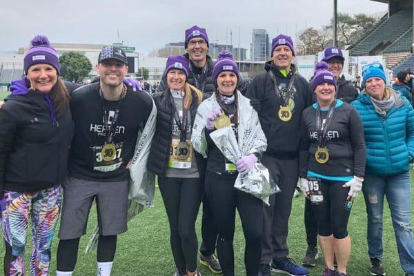 Raising awareness about substance use at Seattle marathon 2019