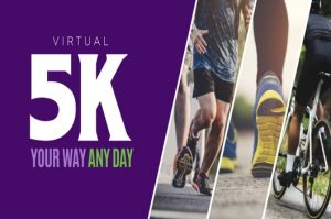 Virtual 5K running for charity