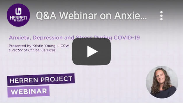 Webinar Anxiety and Depression during COVID