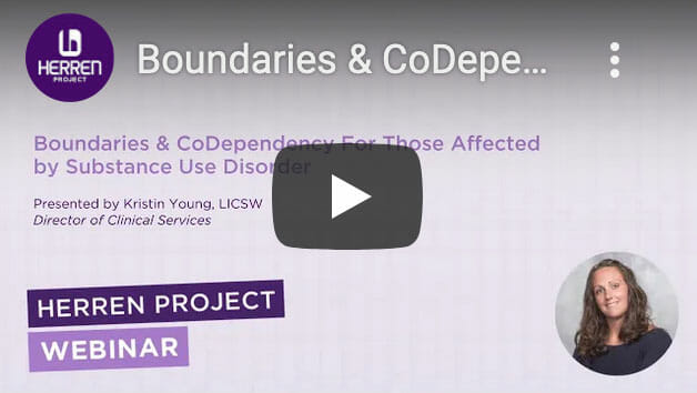 Webinar on Boundaries and Codependancy