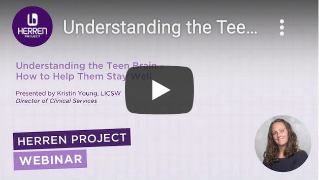 Webinar Understanding the Teen Brain