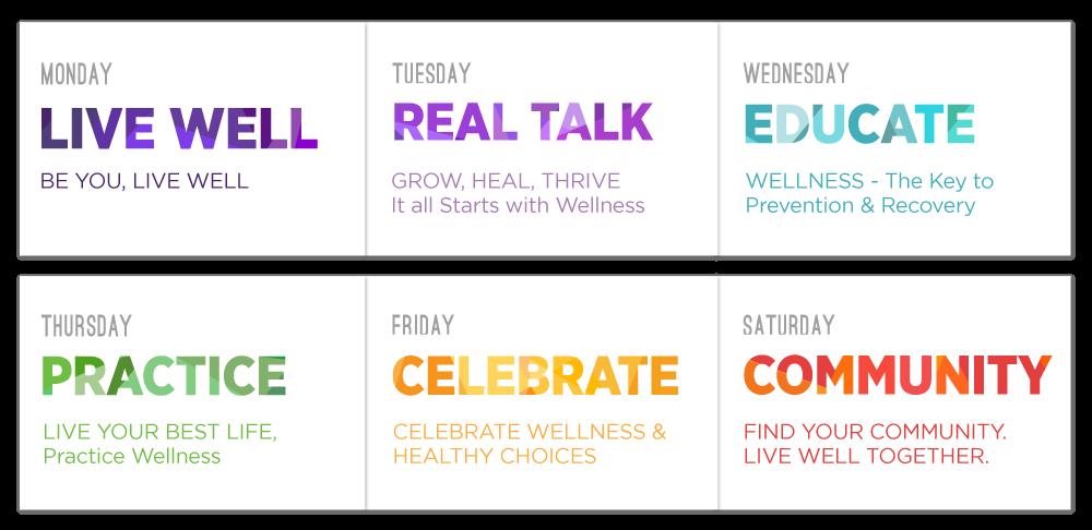 Wellness Week With Herren Calendar