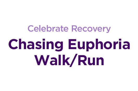 celebrate recovery chasing euphoria walk run Poughkeepsie NY