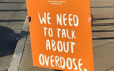 herren project international drug overdose awareness day