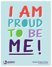 herren project clubs I am proud to be me poster