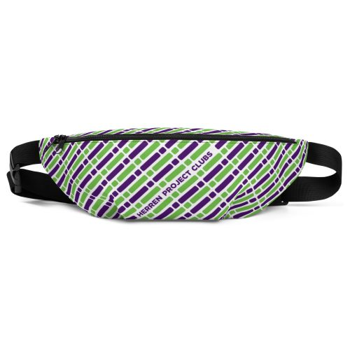 hpc fannypack colors front 01 01 01 purple green pattern 01 hpc fannypack b mockup front default white
