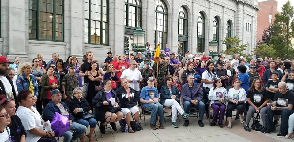 Herren Project grief support group participates in international overdose awareness day
