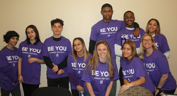 putnam students go purple with Herren Project clubs
