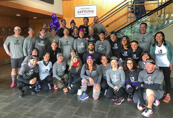 raising awareness around substance abuse 2019 Spartan Fenway Herren Project 2019