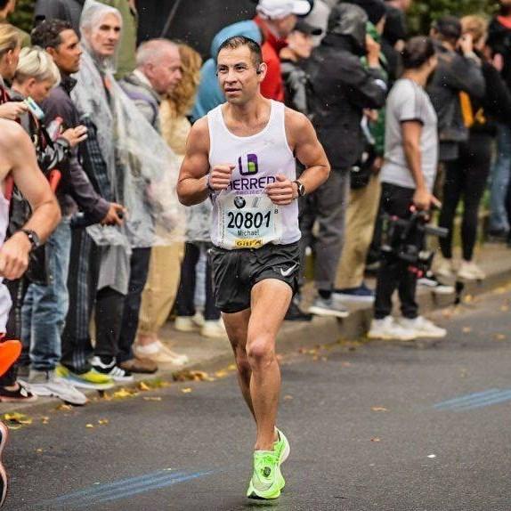 Running for the disease of addiction Berlin Marathon