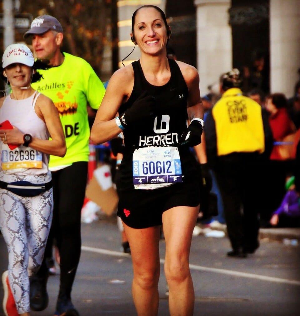 running for Herren Project addiction nonprofit
