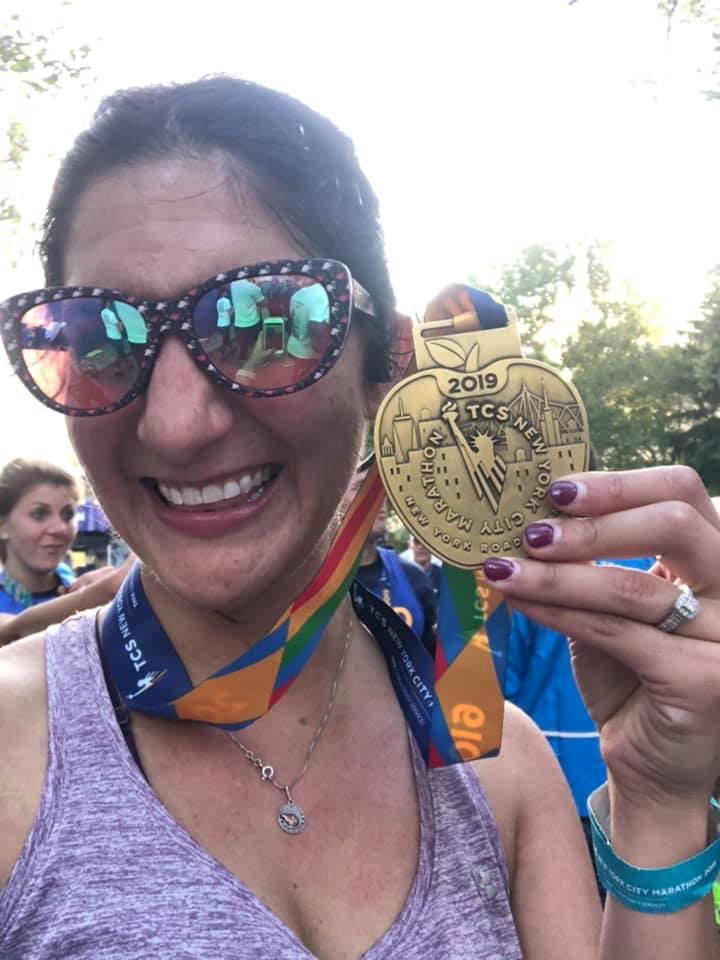 Allison Terlacher running for Herren Project