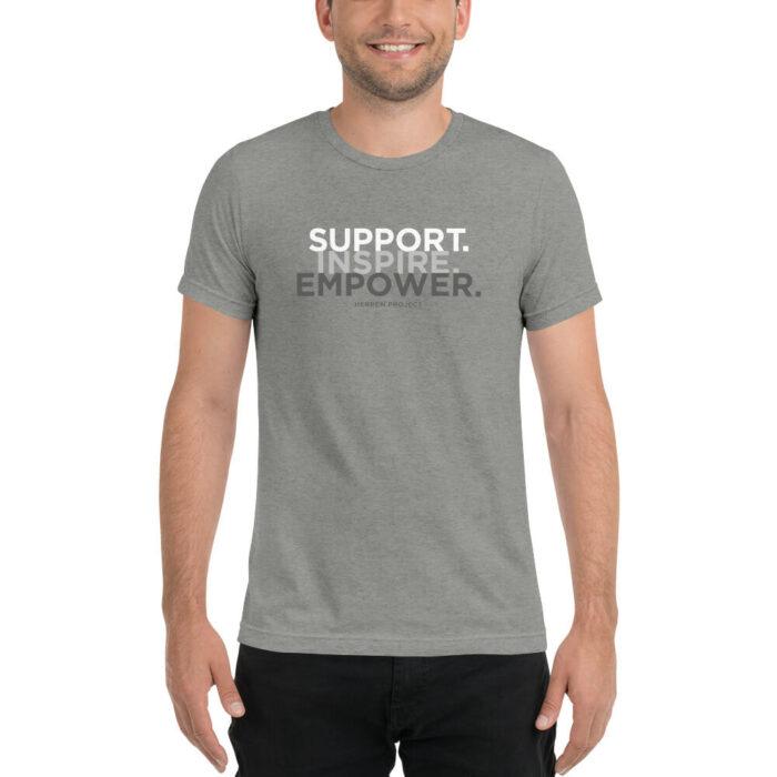 unisex tri blend t shirt athletic grey triblend front 60ed8bcb78228