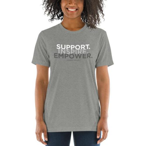 unisex tri blend t shirt athletic grey triblend front 60ed8bcb78422